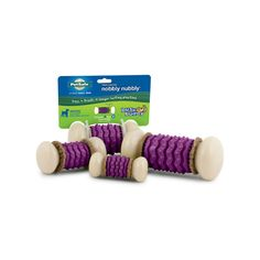Busy Buddy® Nobbly Nubbly™ Comes in 4 different sizes! Keep your pet occupied for hours!