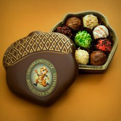 Delicious hand-dipped truffles lovingly handmade by the Chubby Chipmunk of Deadwood, South Dakota.
