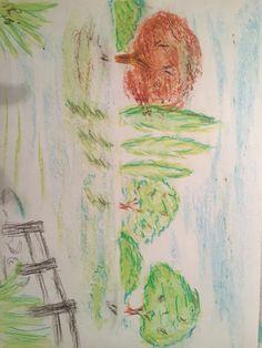 Pastel Practice Scenery Scenery, My Arts, Pastel, Painting, Cake, Landscape, Painting Art, Paintings, Paisajes