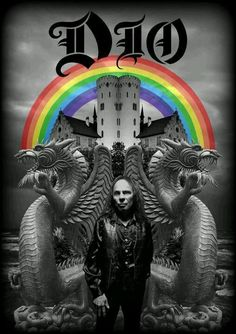 Ronnie James Dio-Wrote songs about rainbows, and was still way more metal than anybody can ever hope to be