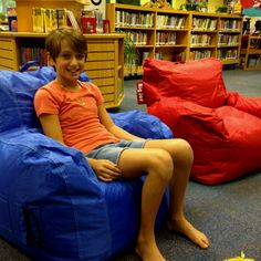 Great chairs for your classroom or media center from Big Joe.  $30 @ Walmart
