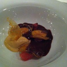 Chocolate Ravioli dessert - La Fabula