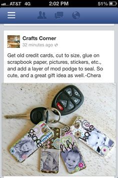 25 Inspiring Crafting With Credit Cards Images Cards Credit Cards