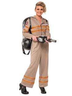 Check out Ghost Buster's Movie Deluxe Ghostbusters Costume - Low Priced TV