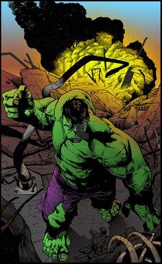 #Hulk #Fan #Art. (BA Hulk Color) By:Plugin848y. ÅWESOMENESS!!!™ ÅÅÅ+