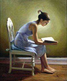 Reading by JahazielMinor (print image)