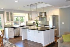 kitchen island eating kitchen transitional with kds | thearmchairlibrarian.com