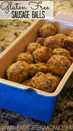 Sausage Balls are a signature snack for most my families parties.  My mom makes them every Christmas morning and we have them at all our Showers (bridal or baby).  Not wanting my husband to miss out on all the wonderfulness of the Sausage Balls (because he cannot have gluten) I always make him his own … … Continue reading →