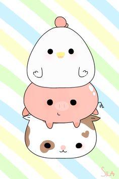 Kawaii wallpaper wallpapers, 2019 kawaii drawings, c Cute Cartoon Drawings, Bff Drawings, Cute Kawaii Drawings, Cute Animal Drawings, Kawaii Cat, Kawaii Chibi, Cute Chibi, Kawaii Anime, Kawaii Wallpaper