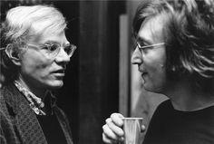 John & Andy Warhol