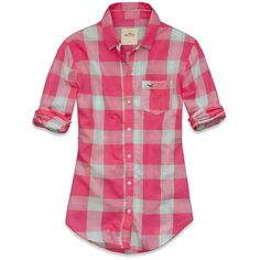 Hollister Co Redondo Shirt ($40) ❤ liked on Polyvore