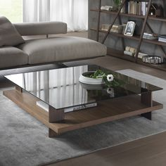 Tavolino in laccato bianco Corallo, rectangular size 120x65 or 140x70
