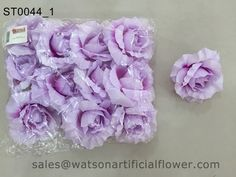 Synthetic rose flower heads - Tianjin Watson Gifts Co., Ltd.