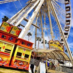 La Grande Wheel at #coachella2013 a #epicca #ferriswheel #visitca