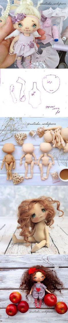 "muñeca textil ""SVeTLuSHa"""