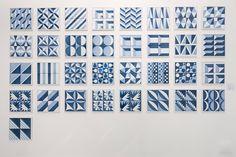 Gio Ponti: L'Infinito Blu, deduta dell'installazione alla Triennale di Milano, 2017