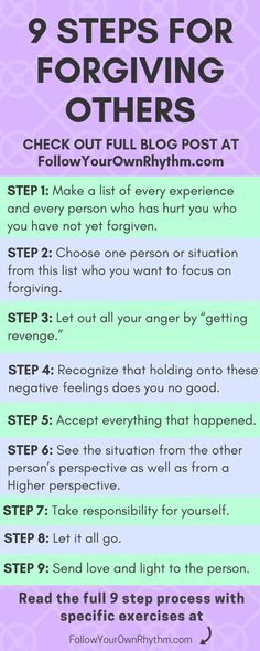 Forgiveness has nothing to do with the person you're forgiving, and everything to do with you. You don't forgive to free the other of what they did, you forgive to FREE YOURSELF. Forgiveness is about letting go and healing from the past. Learn the 9 steps Emotional Pain, Emotional Healing, Monólogo Interior, Step Workout, Spiritual Growth, Spiritual Guidance, Guided Meditation, Mindfulness Meditation, Happiness