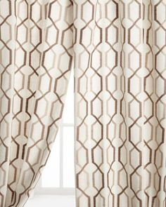 Maxwell Curtains by Softline Home Fashions at Horchow.