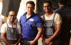 Salman Khan Spotted Shooting An Ad For Astral Pipes | StarsCraze