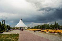 Nuvens formaram um olho gigante no céu do Cazaquistão