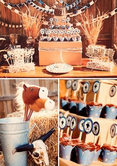 """Cowboy Cookie Corral"" birthday party"