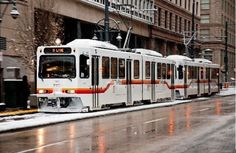 Here are seven of the absolute best ways you can travel around and get to know Denver, be it by walking around the city or riding the light rail! Denver Travel, Tramway, London View, Train Truck, Road Construction, Bonde, State Of Colorado, Light Rail, Trains