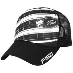 b67280b6c55aa F-150 accessory features cool mesh back panels and a sharp sublimated  grille graphic on