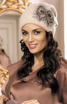 Aurelia casquillo cameo - Sombreros y bufandas cameo - Tapas de invierno -  sombreros de invierno 3cf3f290c15