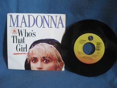 RARE Vintage Madonna  Who's That Girl / White by sweetleafvinyl, $5.99