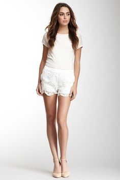SuperTrash Hayda Crochet Lace Short by SuperTrash & Olcay Gulsen on @HauteLook