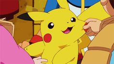 I have collected the cutest GIFs of Pikachu. Because I love Pikachu. You love Pikachu. Pikachu Pikachu, Pikachu Kunst, Gif Pokemon, Pokemon Memes, Pokemon Photo, Pokemon Plush, Gifs, Pokemon Mobile Game, Disney Pixar