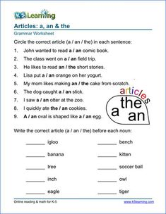 Resume: Prepossessing English Grammar Worksheets For Grade 4 Articles With Article Worksheets For Elementary School Printable Free of English Grammar Worksheets for Grade 4 Articles Worksheets For Class 1, Parts Of Speech Worksheets, Punctuation Worksheets, Adjective Worksheet, 2nd Grade Worksheets, English Worksheets For Kids, Vocabulary Worksheets, Verb Tenses, English Activities