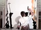How This Man Creates a Holy Portrait Will Surprise You - Wow! Short and Sweet with an incredible finish!