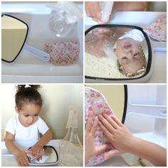 Mirror Polishing / Montessori / Practical Life / Toddler via sixtineetvictoire.com