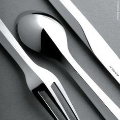 """Zermatt"" cutlery, stainless steel by Puiforcat"