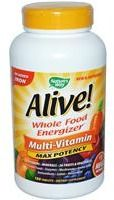 Nature's Way,Alive! Whole Food Energizer,180 Tabs $31.49 + $5 OFF,Use Code:EQE054 at iHerbShoppe.com