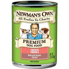 Newman's Own Premium Dog Food, Organic Chicken Formula, 12.7 Ounce (Pack of 6) @@ Please be sure to check out this awesome product. (This is an affiliate link and I receive a commission for the sales)