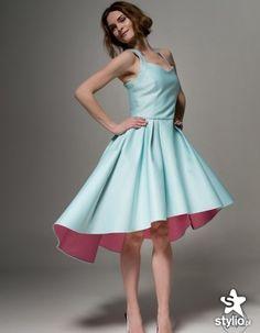 Sukienki na wesele, projekt La Roue