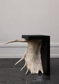 Amazing antler table / Rick Owens side table
