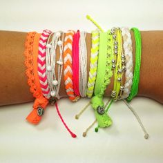Neon Wrist Party! #puravida