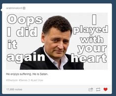 """The ""Sherlock"" Season 3 Finale Caused Tumblr To Self-Destruct"" omg all of these are so funny"