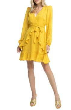 ASTR the Label Ruffle Front Dress | Nordstrom