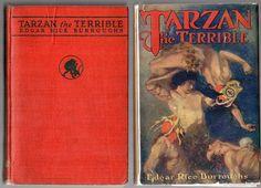 1921 McClurg 1st Ed Tarzan the Terrible by Edgar Rice Burroughs,G&D Dust Jacket