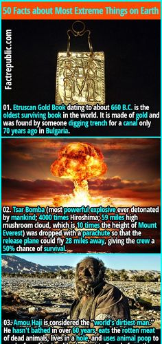 Wow Facts, Wtf Fun Facts, Awesome Facts, Fascinating Facts, Random Facts, Alien Facts, Science Facts, Gold Book, Interesting History