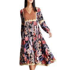 RD & Koko Floral Maxi Dress
