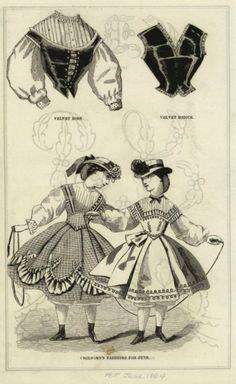 June, 1864 - Peterson's Magazine - Children