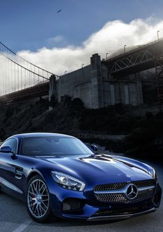 Mercedes-AMG GT S in Brilliant Blue
