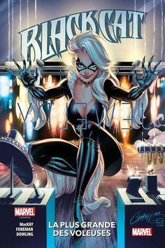 Black Cat by J. Scott Campbell, colours by Sabine Rich * Ms Marvel, Marvel Comics, Arte Dc Comics, Marvel Girls, Comics Girls, Marvel Women, Comic Book Artists, Comic Artist, Comic Books Art