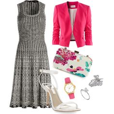 """Pink"" by shadyav18 on Polyvore"