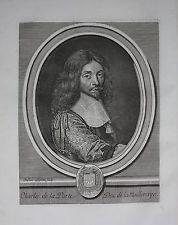 Charles de la Porte - 69) MARECHAL-DUC DE LA MEILLERAYE: Il concourut au siège de Gravelines qui se rendit le 28 juillet 1644 après une vive résistance puisqu'il y eut 48 jours d'investissement de la place et 4 assauts. Après la capitulation, une altercation très vive s'engagea entre la Meilleraye et le maréchal de Gassion, pour savoir à qui revenait l'honneur de prendre possession de la place. Le prince la termina en faveur du premier, à raison de son titre de commandant du régiment des…